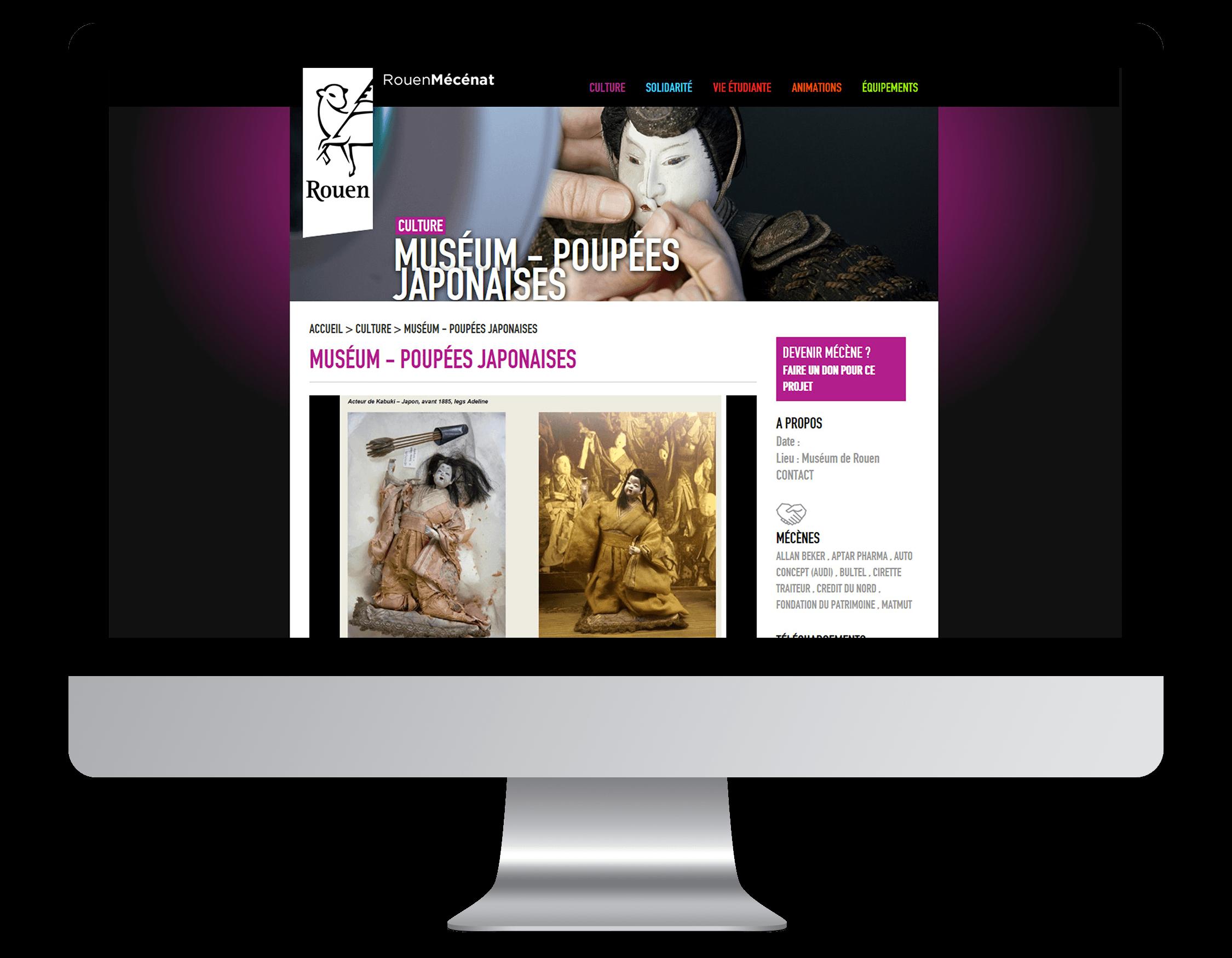 Développement site internet Rouen