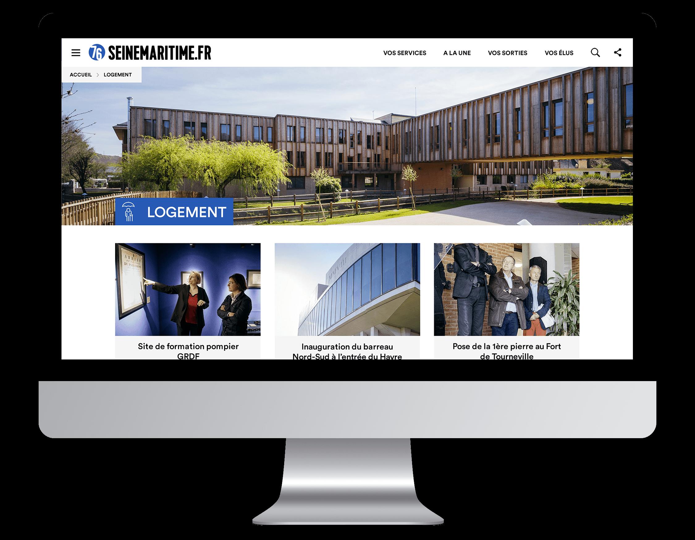 Développement Site internet Seine-Maritime