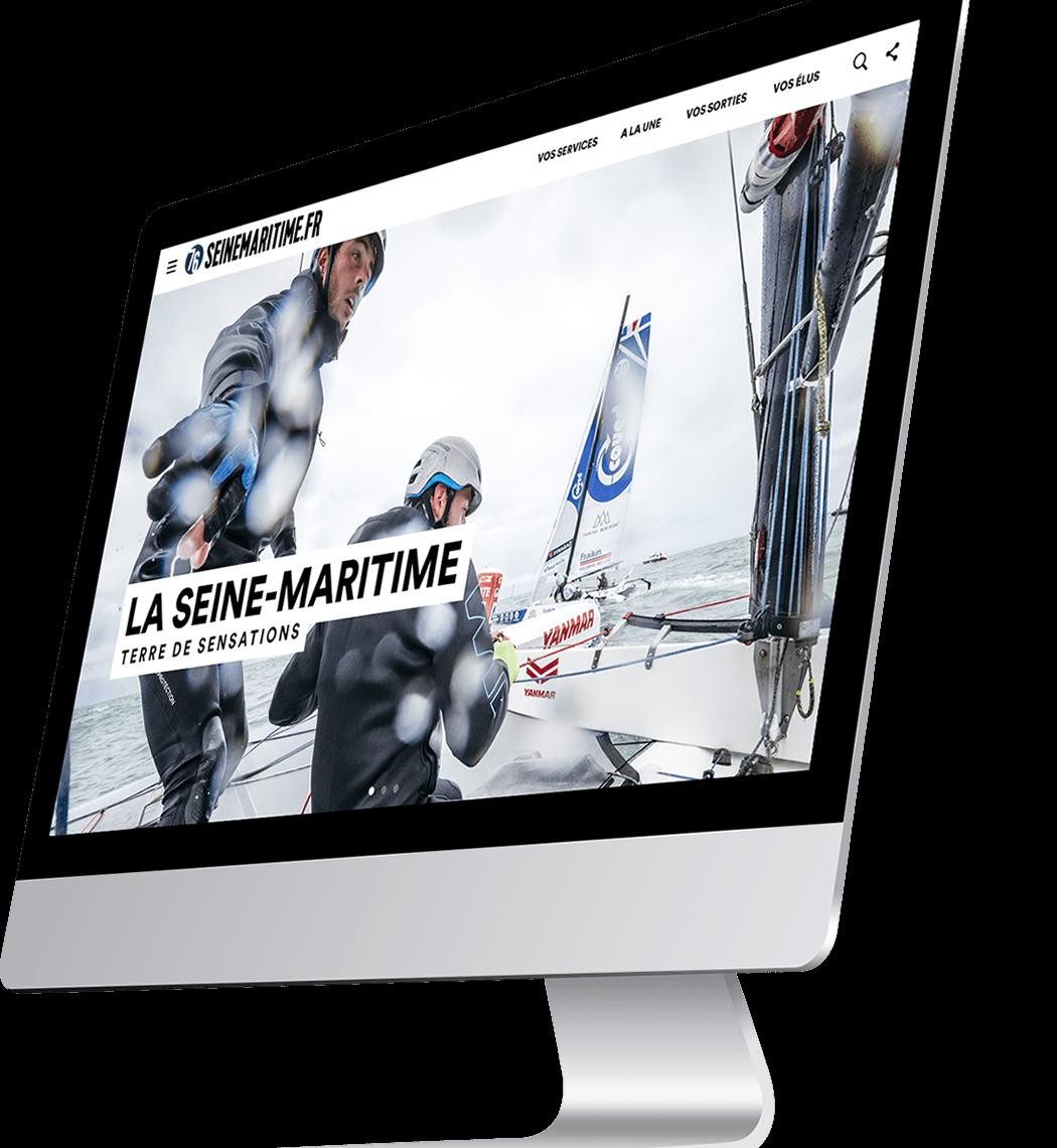 Site internet Seine-Maritime